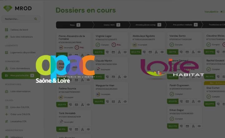 OPAC S&L et Loire Habitat : co-concepteurs du module CRM de MROD