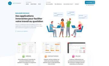 Nouveau site web pour Activinnov